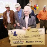 Luckiest lady in the world, winning major lottery prize four times!