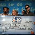 Syndicate wins 21 Million dollars from the Lotto 6/49 lottery