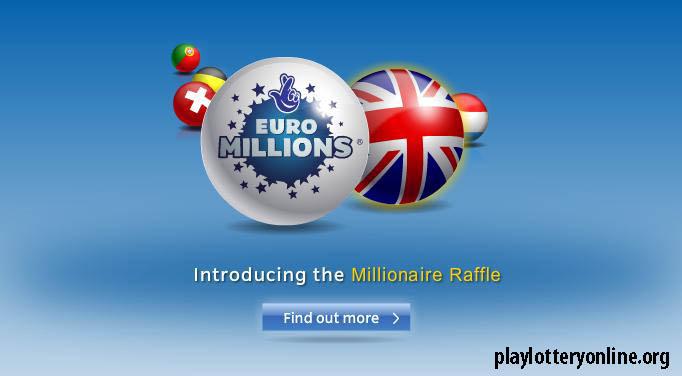 EuroMilllions Millionaire raffle