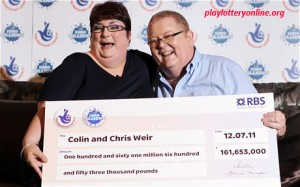 Lottery Winning Couple