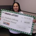 Player Scoops $100,000 from the Virginia Lottery