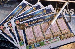 EuroMillions ticket holder