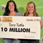 Player scoops $10 Millions from a scratch off lottery game