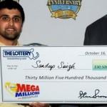 Two tickets win $61 million Mega Millions jackpot