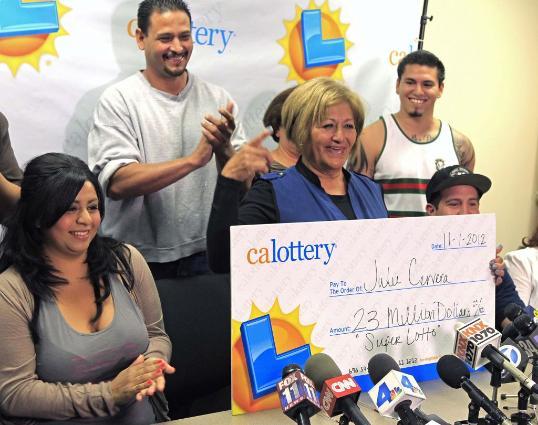 $23-million lottery jackpot