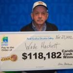 Lottery winner didn't know he had a winning ticket