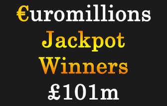 Euromillions player won €101 million this Friday