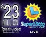 $23 million SuperLotto Plus won on Saturday