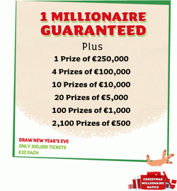 Christmas Millionaire Raffle 2012