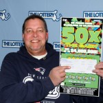 The lucky Easthampton player won lottery twice