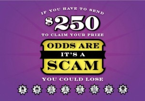 Foreign lottery scams
