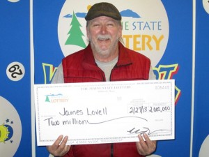 Maine lottery winner