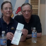 Lucky couple wins lottery jackpot for the second time