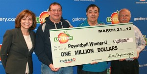 Powerball lottery winner