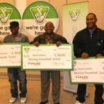 Three soldiers share a $1 million Powerball prize