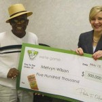 Melvyn Wilson is officially a four time lottery winner