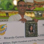 Man finds winning lottery ticket in a jar