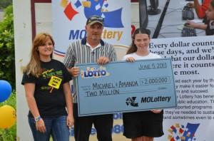 Missouri Lottery millionaires