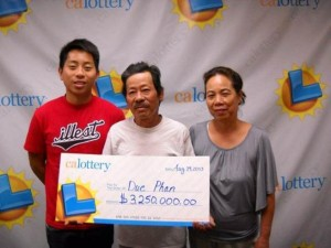 Lucky for Life lottery
