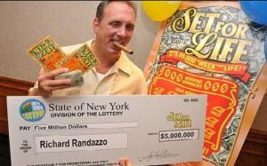 $5 million lottery jackpot