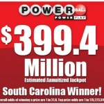 South Carolina player wins $400 million Powerball jackpot