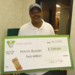 Lucky player wins Virginia Lottery jackpot twice