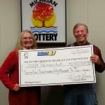 Lucky player wins Michigan Lottery twice