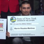 $1 million New York lottery ticket found in the leafs