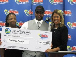 USA Mega Millions winner
