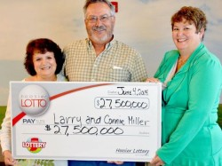 Hoosier Lotto jackpot winners