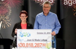 Lotto Max jackpot winners